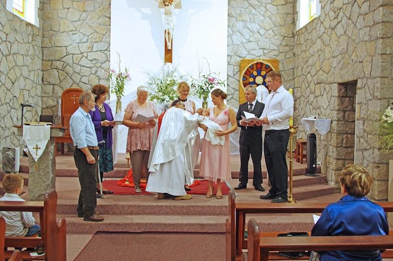 Ritas baptism